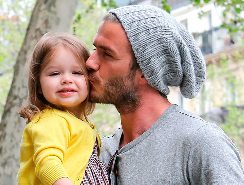 20 imágenes que prueban que Beckham es el DILF definitivo