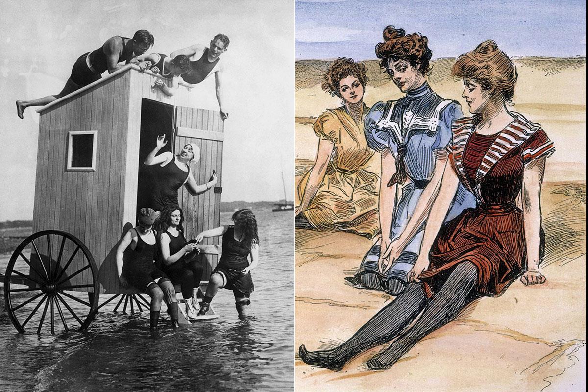 bikini bañador historia evolución
