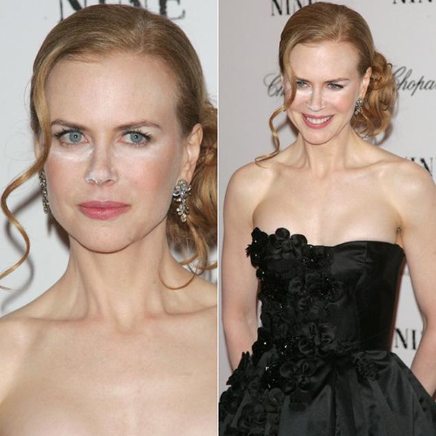 Nicole Kidman contouring