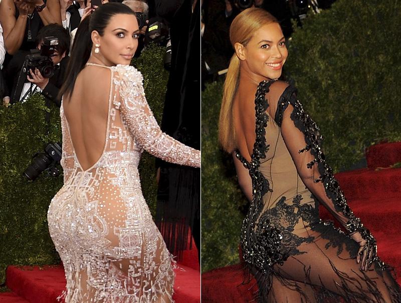 Kim Kardashian copia a Beyoncé (y Beyoncé quiere ser J. Lo)