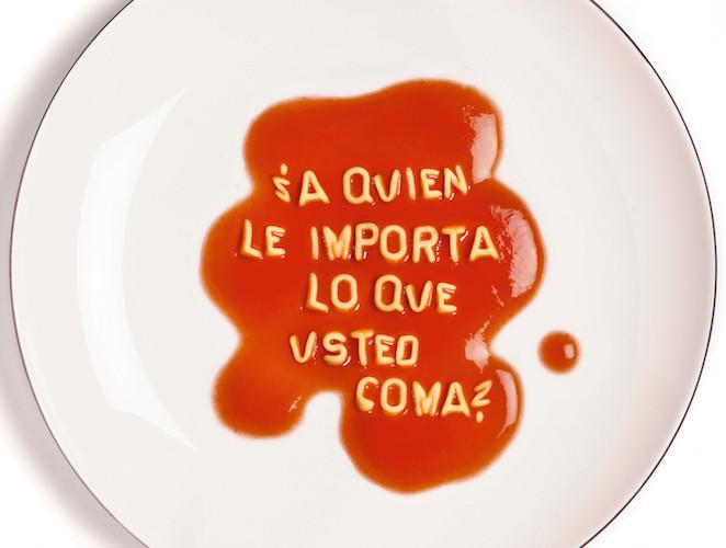 ¿A quién le importa lo que usted coma?