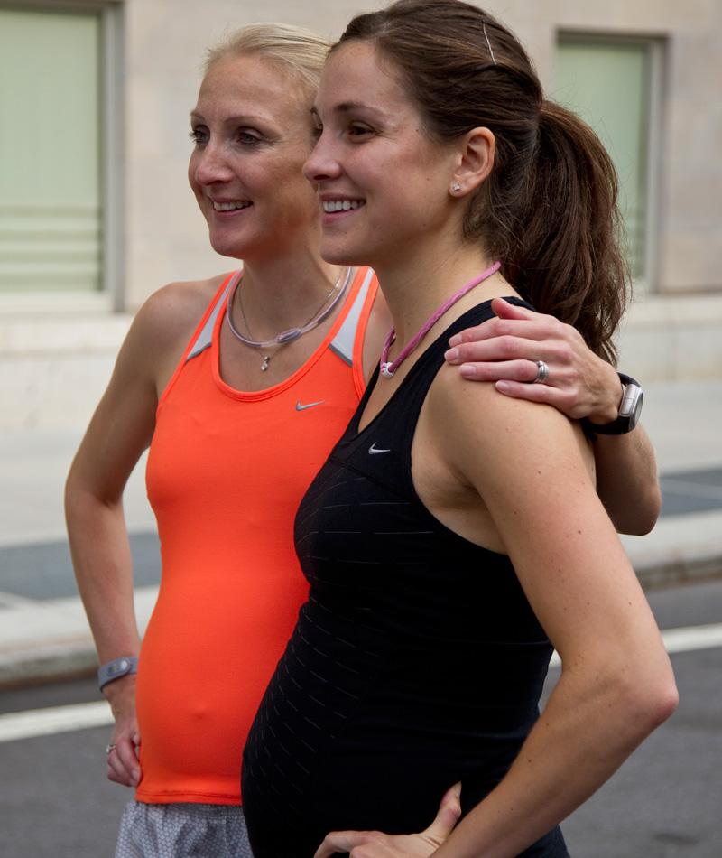 maraton embarazadas