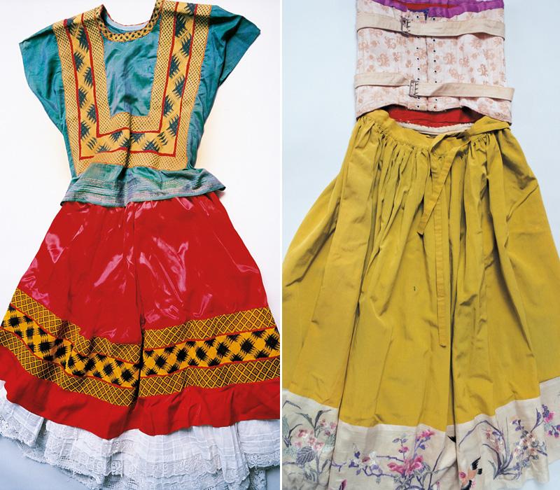 vestidos frida kahlo