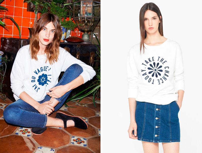 La colección de Alexa Chung para AG Jeans, la más copiada de la temporada