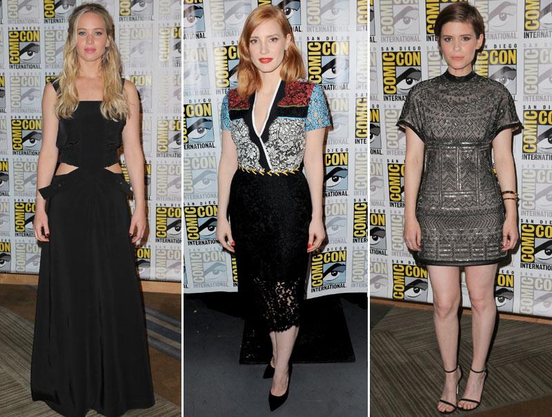 Todos los looks de la Comic-Con 2015