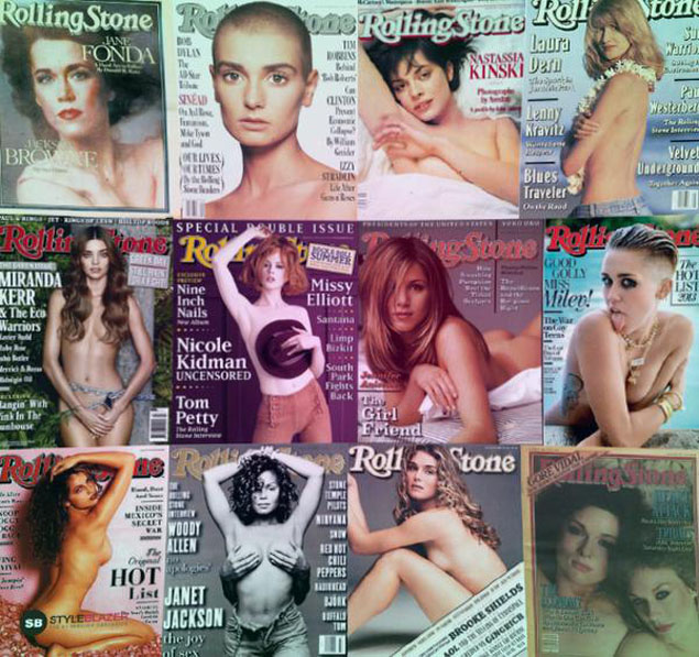 Rolling Stone desnuda