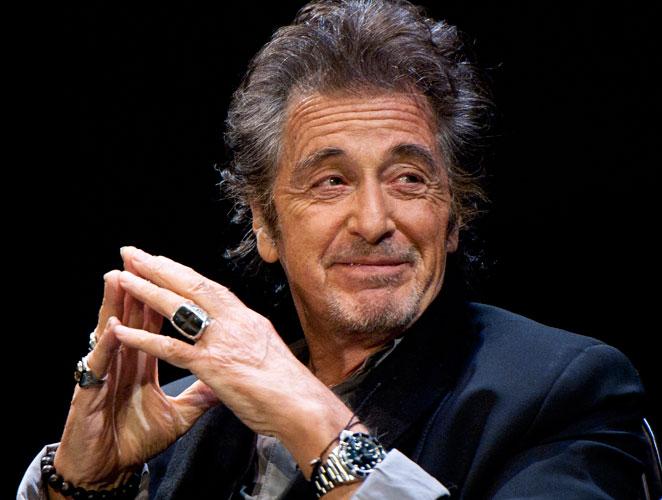 """Al Pacino: """"Me pasé los 70 con la cabeza volada"""""""