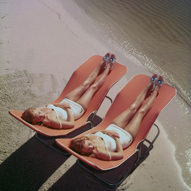 descansar playa