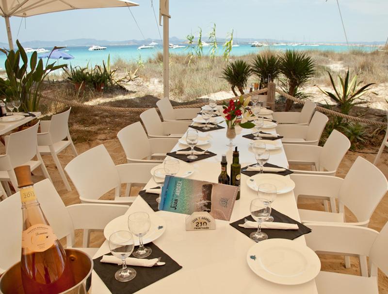 Restaurante Juan y Andrea Formentera