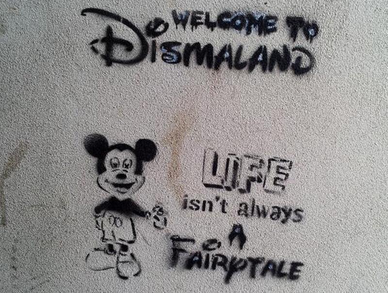 ¿Está Banksy creando un parque temático 'antiDisney'?