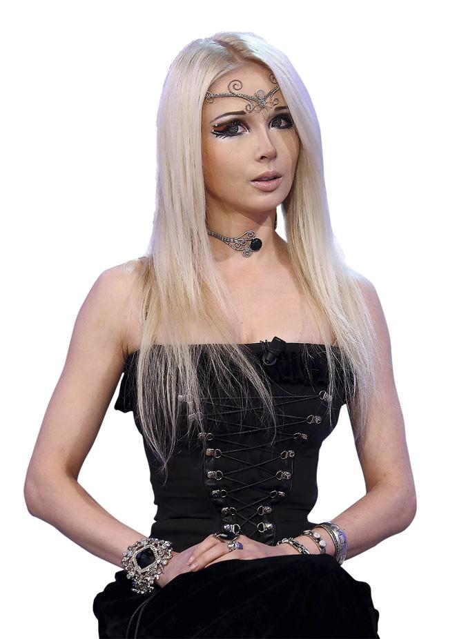 La moda de maquillarse como una muñeca