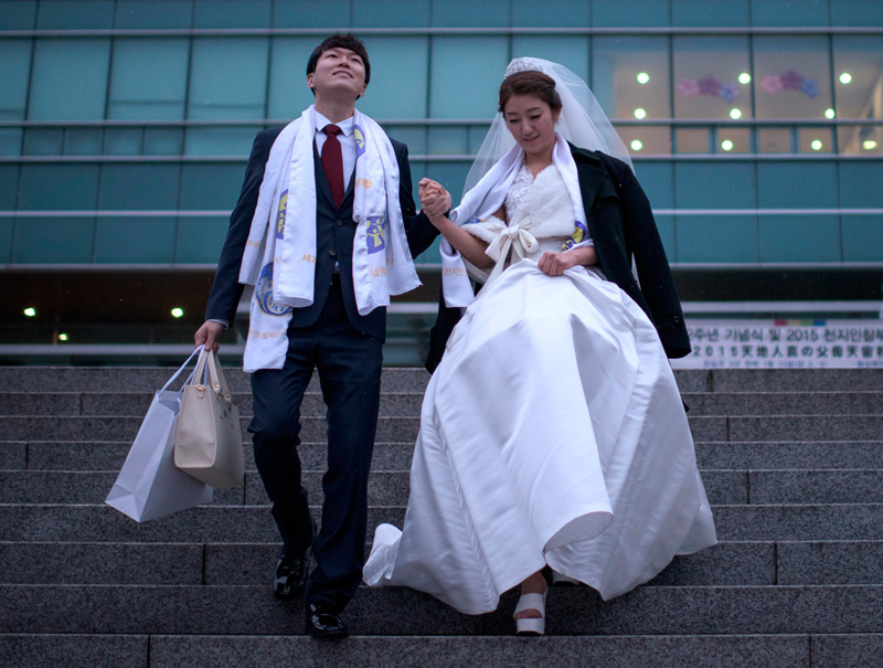 wedding en corea del sur