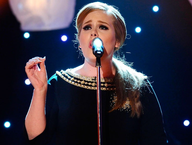 Hablemos del disco de Adele, que su dieta poco importa