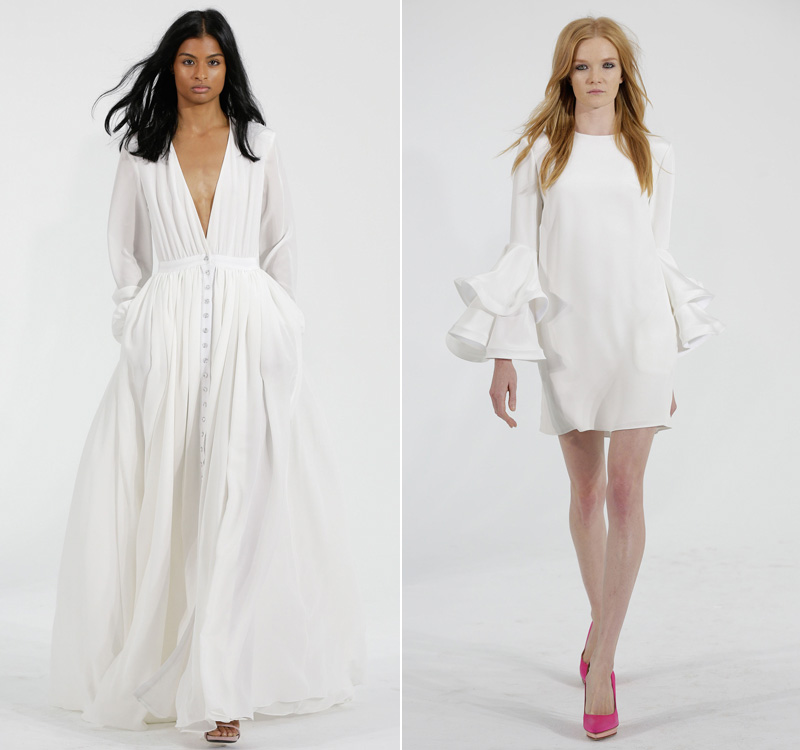 Houghton marca vestidos novia