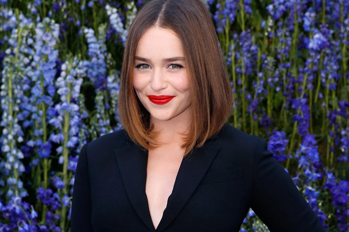 Emilia Clarke Elegida La Mujer Más Sexy Del Mundo Celebrities
