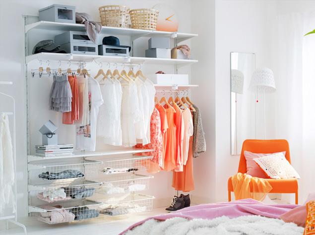 Elimina el caos en el armario y dormir s mejor - Armarios almacenaje ikea ...