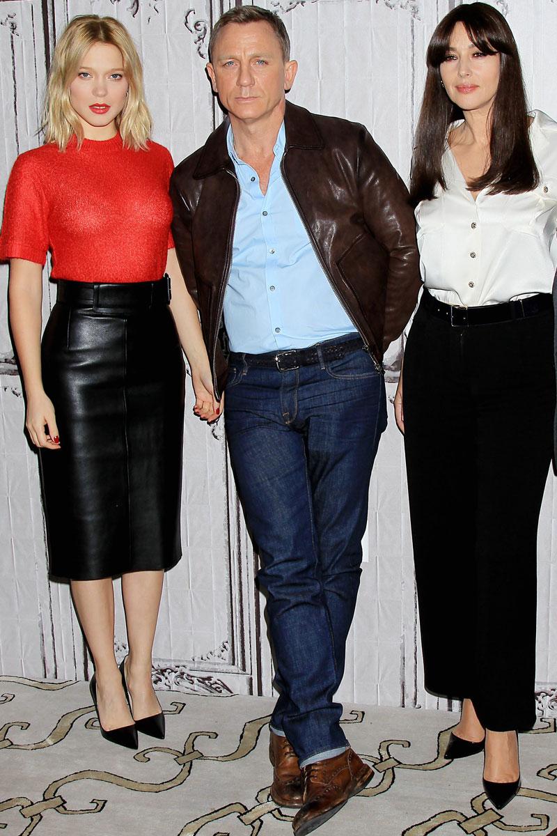 todos los looks de lea seydoux en el estreno de spectre james bond