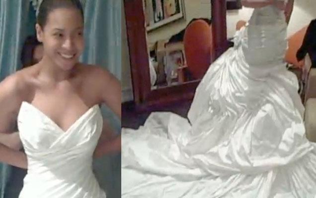 Desvelado el vestido de boda de Beyoncé