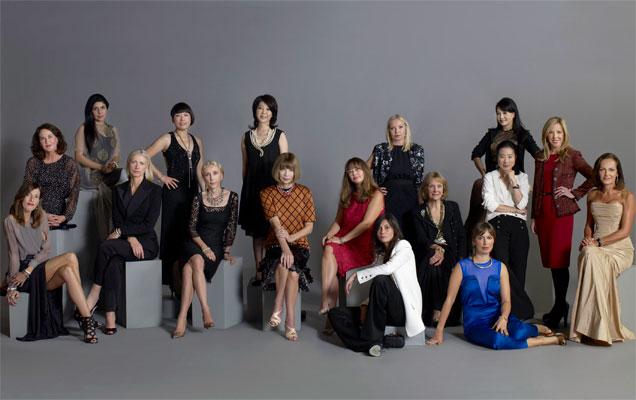 Todas las editoras de Vogue en una misma foto