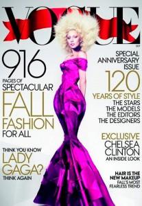 Lady Gaga, portada del September Issue de Vogue USA