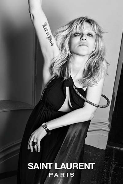 Ya es oficial: Courtney Love es el icono de estilo de Saint Laurent