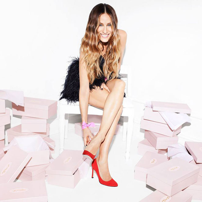 La línea de zapatos de Sarah Jessica Parker, un homenaje a Carrie