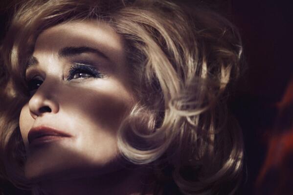 Jessica Lange es la nueva imagen de la línea de belleza de Marc Jacobs