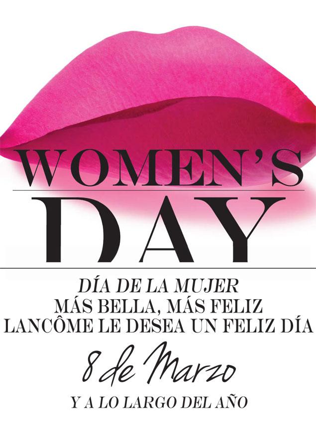 Celebra el Día Internacional de la Mujer