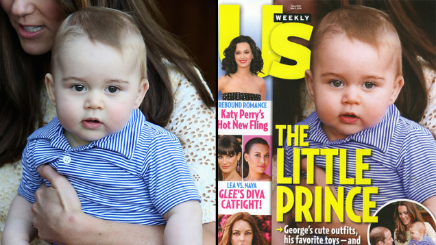 Baby-Prince-George-gets-photoshopped-for-Us-Weekly