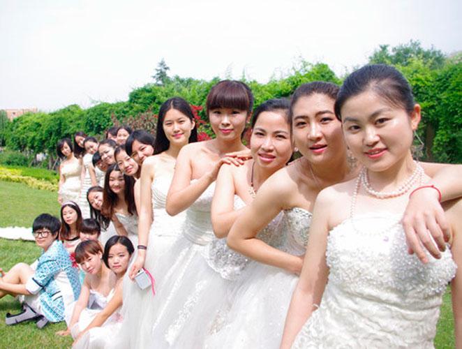 Vestirse de novia pero no para casarse