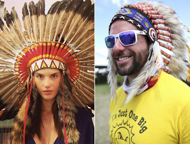 Un festival de música prohíbe las coronas de plumas indias