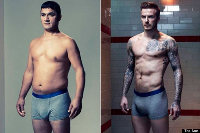 ¿Y si los 'hombres reales' posaran como modelos en calzoncillos?
