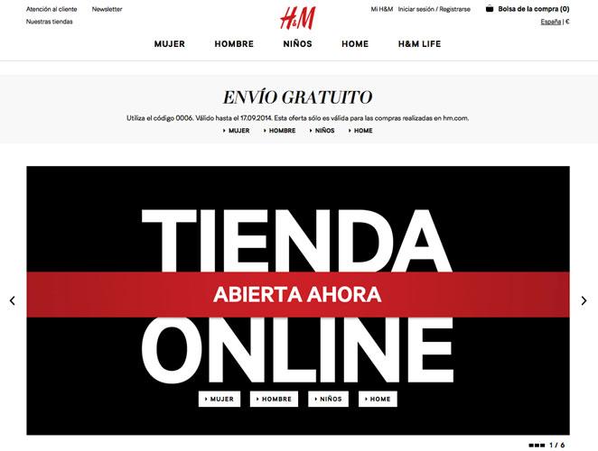 H&M Online Zahlungsmöglichkeiten