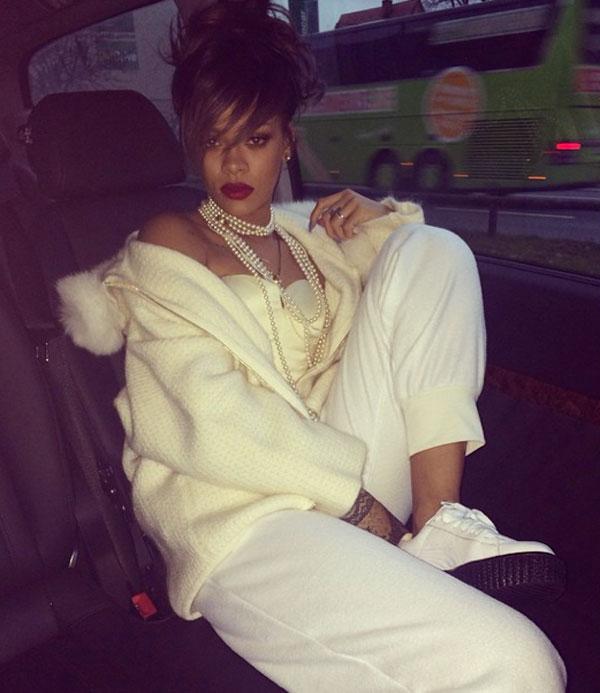 Rihanna, nueva directora creativa de Puma