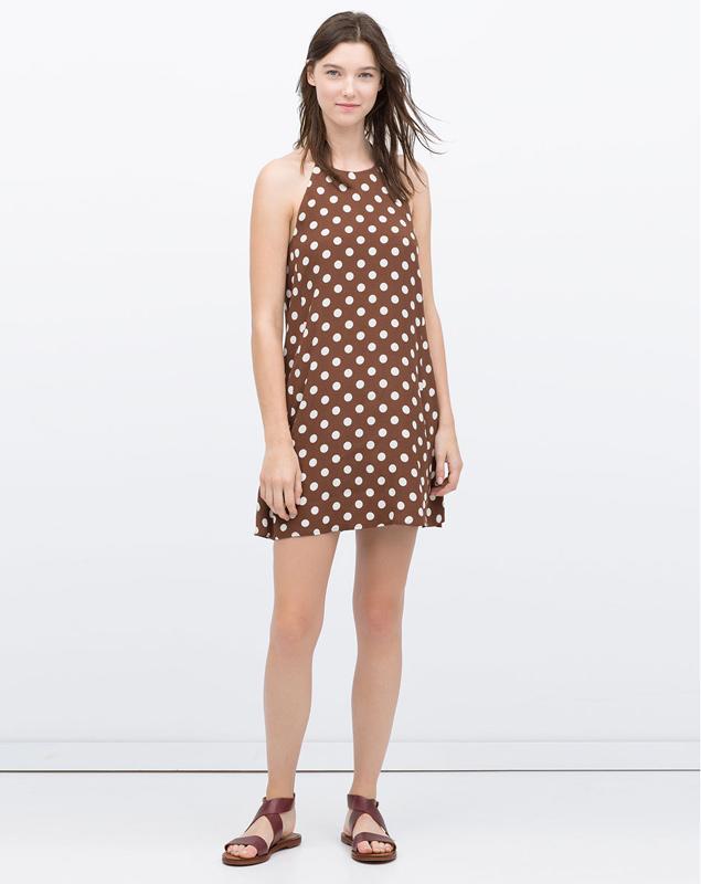 Zara se marca un 'clonazo' del mítico vestido de lunares de 'Pretty Woman'
