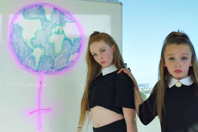 Mira, Beyoncé, estas dos 'mini-bailarinas' están revolucionando Internet