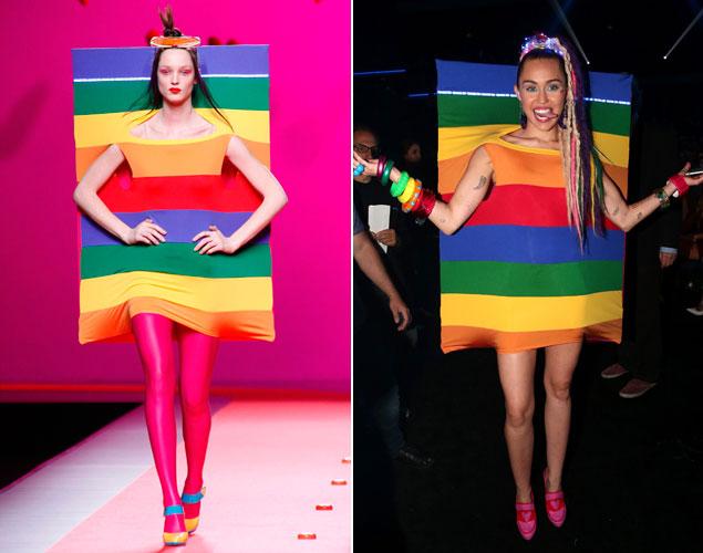 El idilio entre Miley Cyrus y Ágatha Ruíz de la Prada