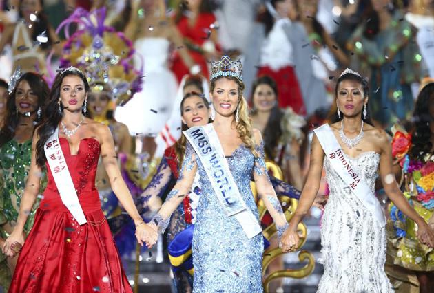 Una española gana por primera vez el título de Miss Mundo