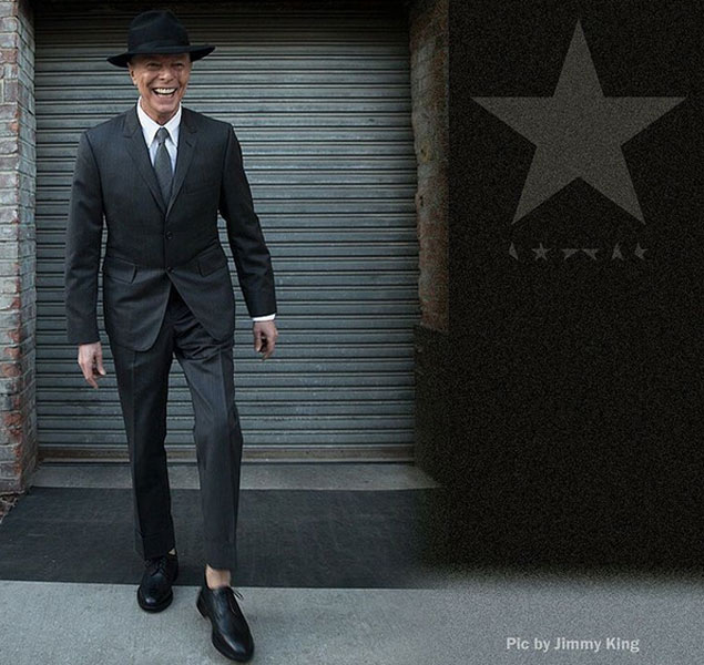 Ésta es la última foto de David Bowie