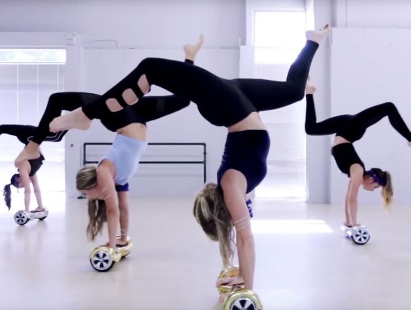 La coreografía con Hoverboards que triunfa en Internet