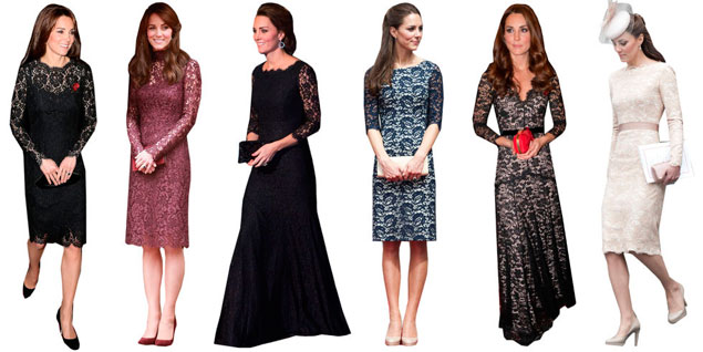 La prueba definitiva de que Kate Middleton solo viste 7 tipos de prenda