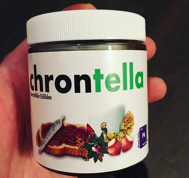 Llega la Chrontella, la Nutella con marihuana 'made in' Canadá