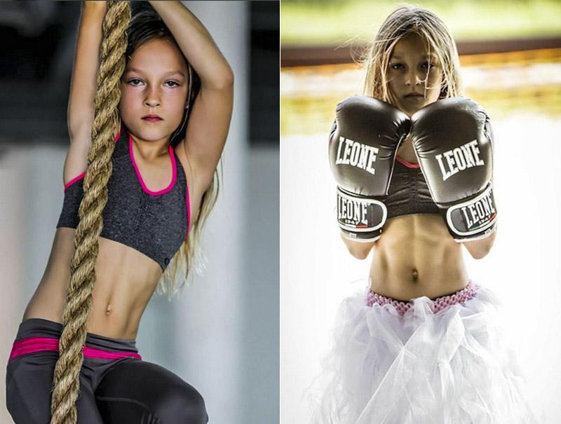 'Wonder Woman' es esta niña de 9 años que ha superado la durísima prueba de obstáculos de los marines