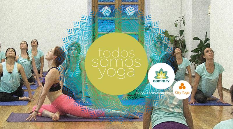 Celebra el Día Internacional del Yoga con una clase gratuita de Aomm.Tv