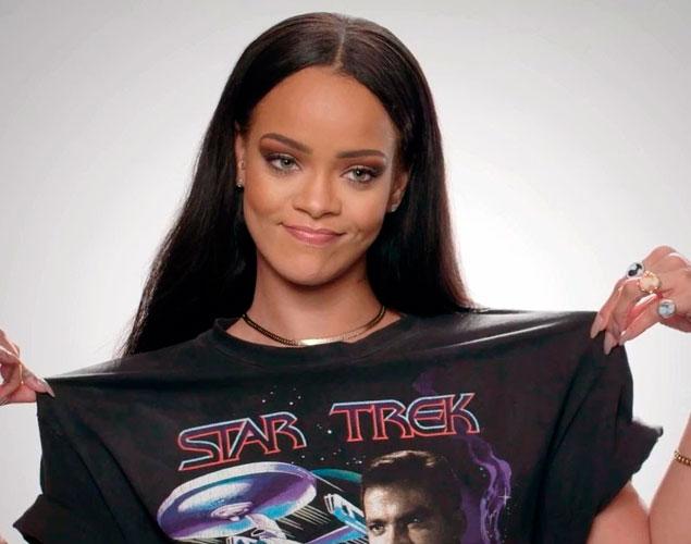 Rihanna compone una canción para 'Star Trek'
