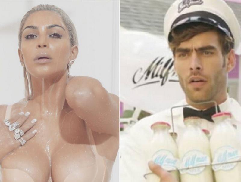 Kim Kardashian y Jon Kortajarena, juntos en el nuevo vídeo de Fergie
