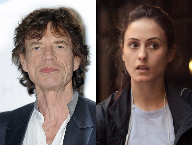 Jagger y su actual pareja, Melanie Hamrick (29 años).