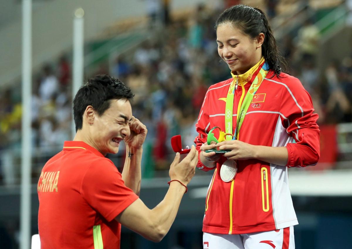 Emocionante pedida de matrimonio en los Juegos de Río