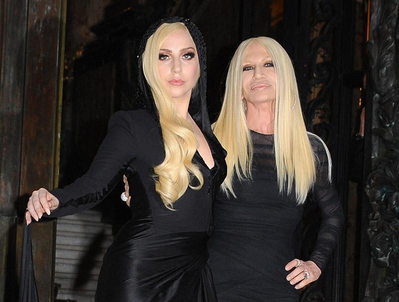 Lady Gaga será Donatella Versace en la serie sobre el asesinato de Gianni