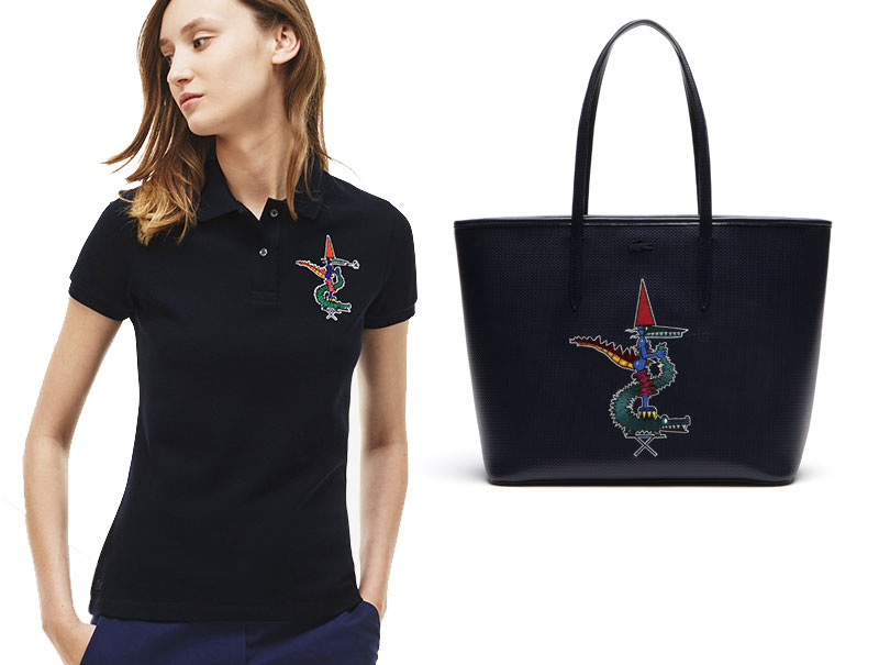 La colección navideña de Lacoste la firma el genio más divertido de la moda